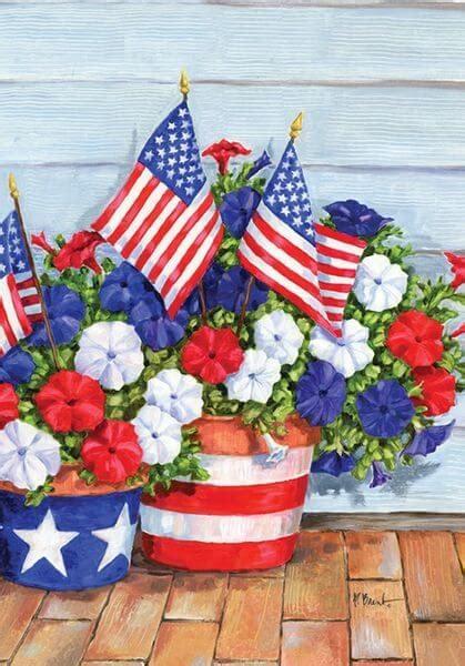 toland home garden patriotic garden flags golly gee gardening