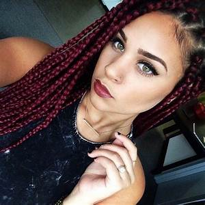 15 Women With Braid Extensions Styles Who Are Not Afraid ...