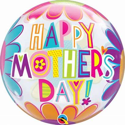 Balloon Mothers Flowers Bubble Mother Mum 1pc