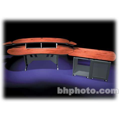 middle atlantic desk middle atlantic 84 quot desk w overbridge 2 4u elur d12dc