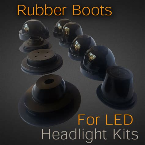 rubber boots  headlight bulb covers