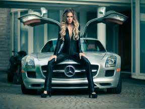 Mercedes Cars with Girls