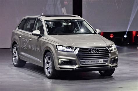 Audi Reveals New Plug-in Hybrid System For Q7 E-tron 2.0