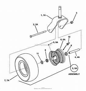 Snapper Pro 7085676   61 U0026quot  Mower Deck Series 2 Parts Diagram For