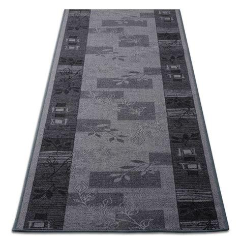 tapis de cuisine au metre tapis de cuisine design gris avec motif 3 largeurs tapistar fr