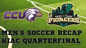 Men's Soccer defeats CCU in KIAC Quarterfinals - YouTube