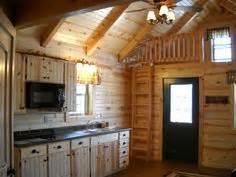 deluxe lofted barn cabin floor plan       style cabin   feet