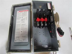 Square D Hu361awkei Ser F06 Non 60hz 3 Pole