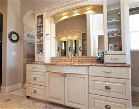 painted vanity bathroom cup pulls bathrooms pinterest