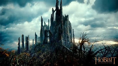 landscape advertising the hobbit 2 the desolation of smaug movie hd wallpaper 05