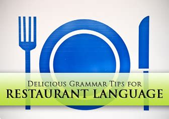 May I Take Your Order: Delicious Grammar Tips for ...