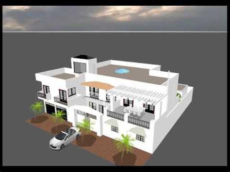 Plan De Maison 3d Projet D Une Maison 3d Au Senegal