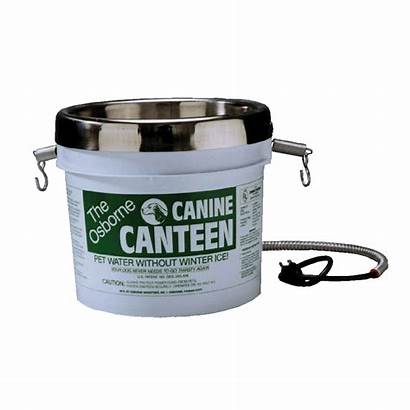 Canteen Canine Osborne Water Heated Bucket Dog