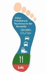 Co2 Fußabdruck Berechnen : co2 fu abdruck f r den tourismus in der der nordeifel tourismusnetzwerk rheinland pfalz ~ Themetempest.com Abrechnung