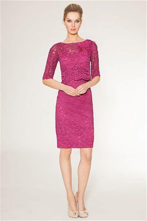 lace magenta dress teri jon      find