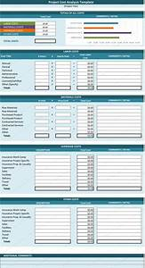 cost analysis template cost analysis tool spreadsheet With cost price analysis template