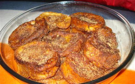 cuisine portugaise en recette rabanadas perdu à la portugaise