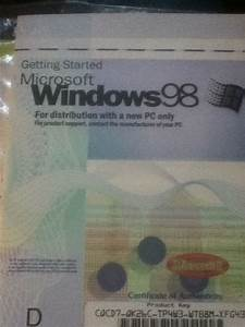 Seriously  I Still Have My Windows 98 User Manual  Maybe I