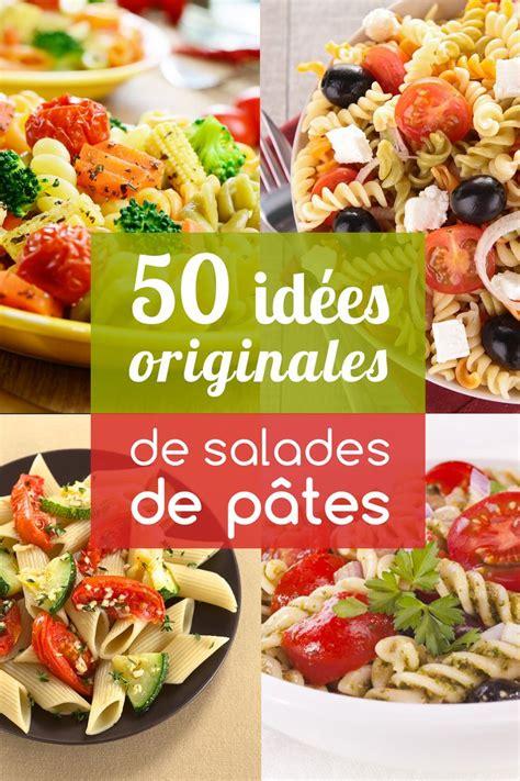 salade de pates originale les 25 meilleures id 233 es concernant recettes de salade de p 226 tes sur accompagnement de