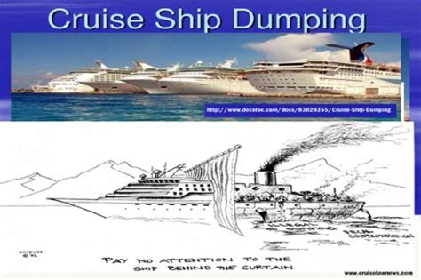 Cruise Ship Dumping U2013 A Concern Of Oceana | Amandala Newspaper