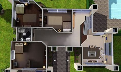 spectacular  sims  house plans house plans