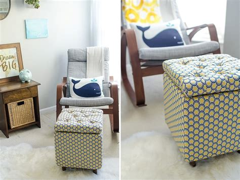 how to make a storage ottoman diy tutorial how to make a diy storage ottoman part 2