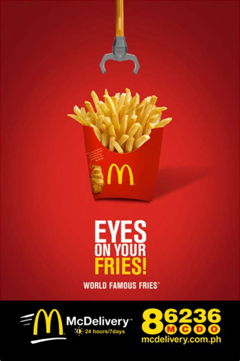 eyes   fries pinoy love mcdonald orange magazine