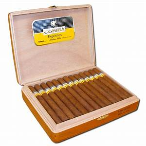Cohiba Exquisitos / Box of 25 Cuban Cigar from Cigars ...