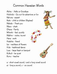 Best hawaiian words ideas and images on bing find what youll love hawaiian words m4hsunfo