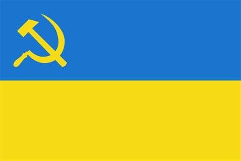 fileflag  ukraine  hammer  sicklesvg
