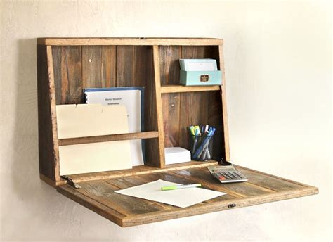 pull down wall desk modern wall mounted desk designs with flair and personality