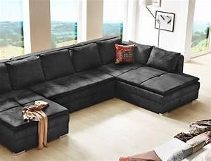 Günstige Wohnlandschaft U Form : couch u form modern ~ Bigdaddyawards.com Haus und Dekorationen