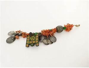 bijou berbere amazigh parure corail ambre monnaie emaux With bijoux ethniques