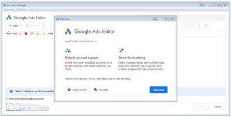 google ads editor   latest  windows