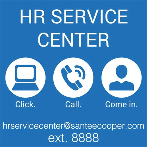 santee cooper employees hr service center