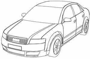Audi A7 Sportback Kleurplaat  U2022 Kidkleurplaat Nl