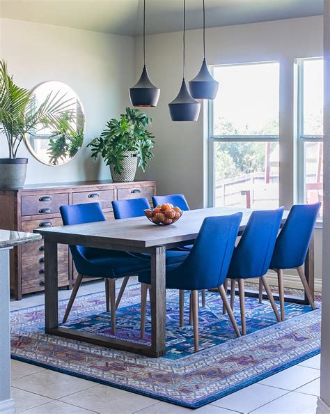 navy blue kitchen table set 25 best ideas about blue dining rooms on blue