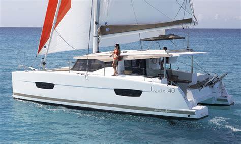 Catamaran Sailboat by Catamaran Sailboat Lucia 40 Fountaine Pajot