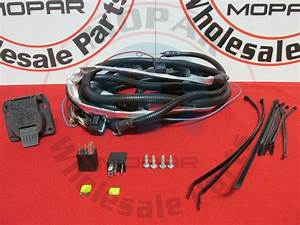 Jeep Grand Cherokee 7 Pin Trailer Wiring Harness Mopar Oem New