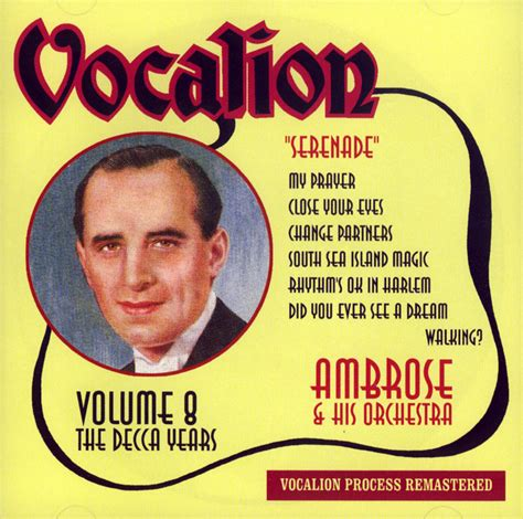 Club Cd The Decca Years  Serenade Vol8