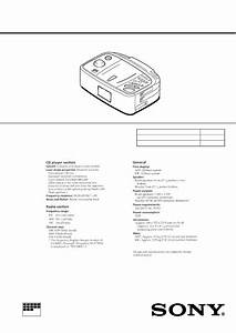 Sony Icfcd873l