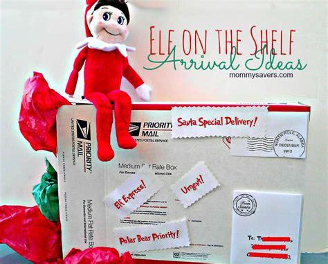 elf   shelf ideas  arrival mommysavers