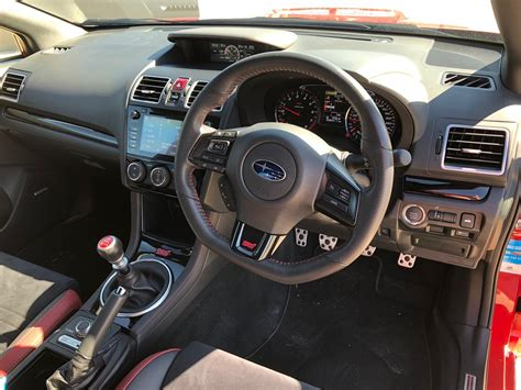 subaru wrx interior 2018 2018 subaru wrx sti interior car review central