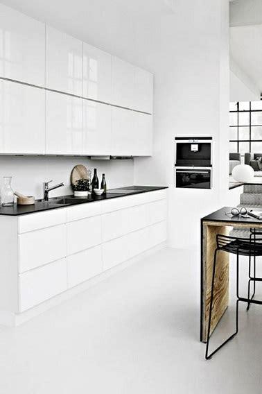 cuisine toute blanche 4 styles déco pour une cuisine blanche deco cool
