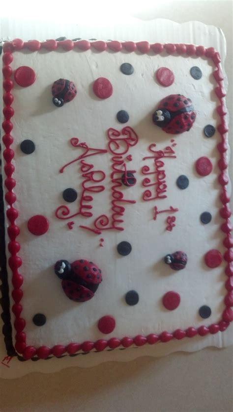 sheet cake made by wal mart bug birthday
