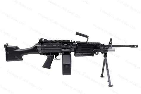 Fnh M249s Semi Auto Belt Fed Rifle, 556mm, Saw With Bipod