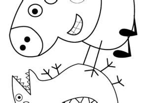 Peppa Pig Coloring Pages Page 2 of 3 Coloring4Free com
