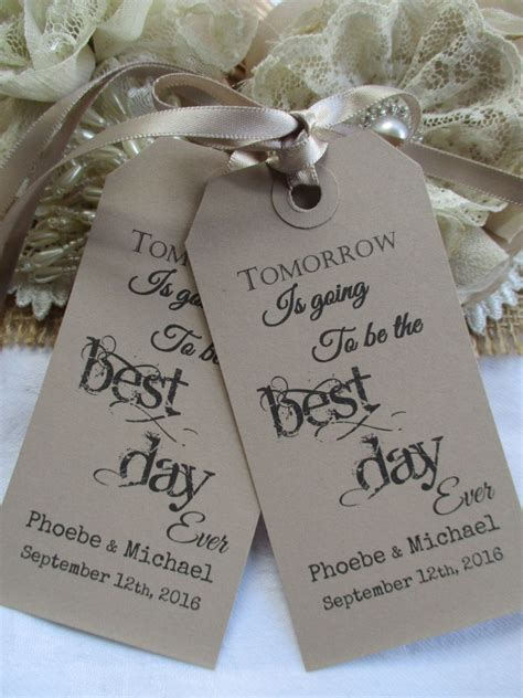 Tomorrow Is Going To Be The Best Day Everwedding