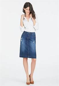 Denim Skirt Clothing in KONA BLUE - Get great deals at JustFab