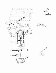 Hood Parts Diagram  U0026 Parts List For Model Uxt4230ads0